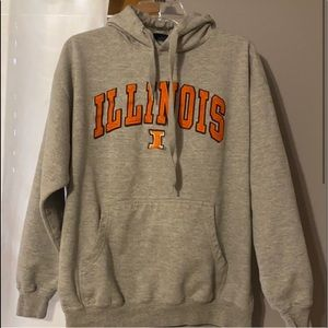 ILLINOIS COLLEGE SWEATSHIRT